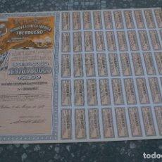Coleccionismo Acciones Españolas: ACCION DE LA HIDROELECTRICA IBERICA - IBERDUERO - BILBAO 10 MAYO DE1968 CAPITAL 16976980000. Lote 97562887