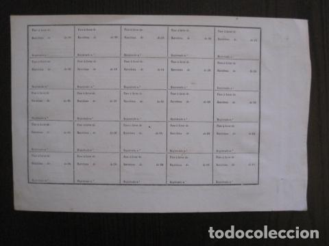 Coleccionismo Acciones Españolas: ACCION ANTIGUA CARBONERA DE SUBIRATS -MINAS - BARCELONA 1860 -VER FOTOS -(ACCION 6 ) - Foto 8 - 112449503