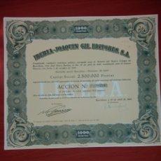 Coleccionismo Acciones Españolas: IBERIA_ JOAQUIN GIL EDITORES S.A.. Lote 115938140