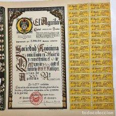 Coleccionismo Acciones Españolas: EL ÁGUILA, 1966. Lote 116706471