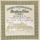 Coleccionismo Acciones Españolas: ESTUDIOS CINEMATOGRÁFICOS ORPHEA FILM, 1948. Lote 120673003