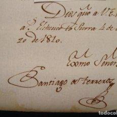 Coleccionismo Acciones Españolas: ELCHE DE LA SIERRA. ALBACETE. GUERRA INDEPENDENCIA. JOAQUÍN DE BLAKE. VOLUNTARIOS DEL PUEBLO. Lote 122906111