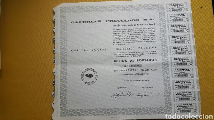 LOTE VARIADO DE 17 ACCIONES (Coleccionismo - Acciones Españolas)