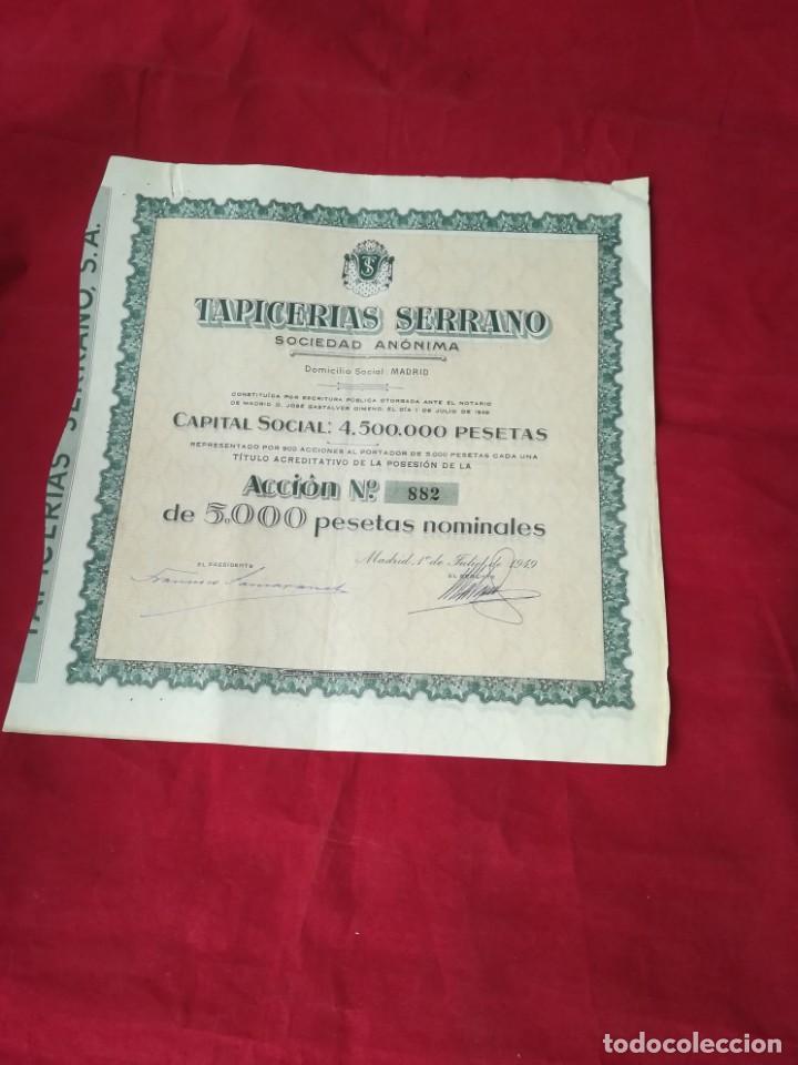 Coleccionismo Acciones Españolas: LOTE DE 7 ACCIONES ESPAÑOLAS - Foto 4 - 134221730