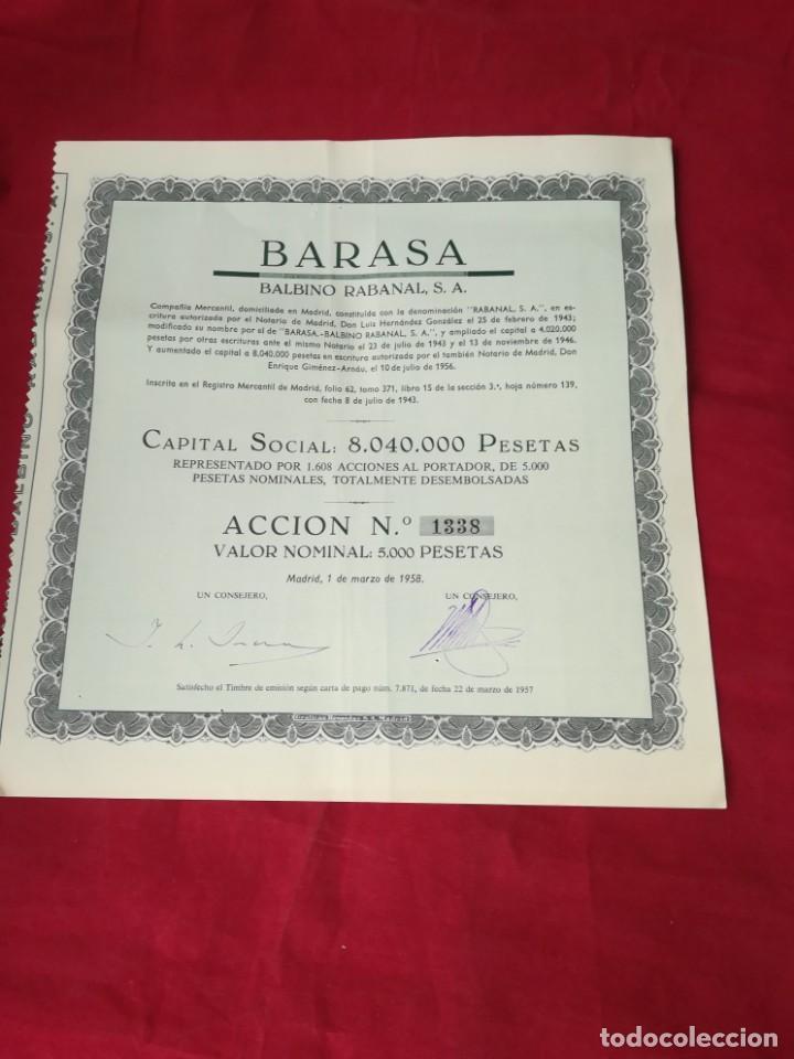 Coleccionismo Acciones Españolas: LOTE DE 7 ACCIONES ESPAÑOLAS - Foto 5 - 134221730