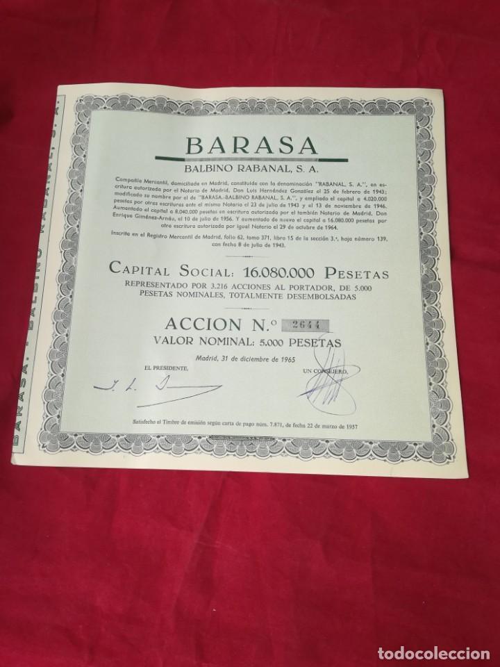 Coleccionismo Acciones Españolas: LOTE DE 7 ACCIONES ESPAÑOLAS - Foto 6 - 134221730