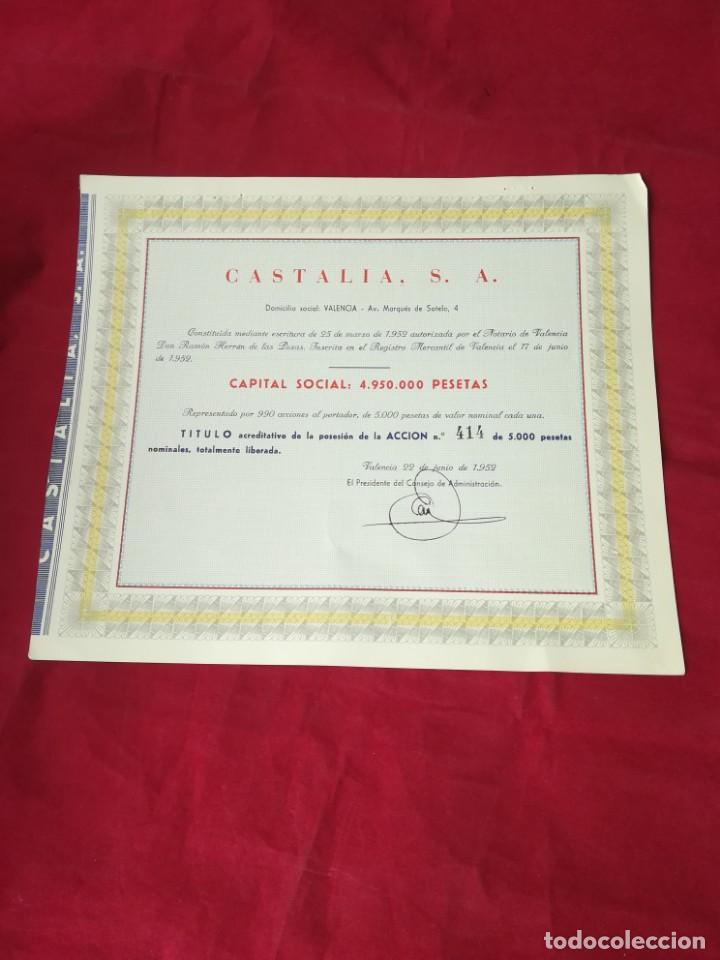 Coleccionismo Acciones Españolas: LOTE DE 7 ACCIONES ESPAÑOLAS - Foto 8 - 134221730