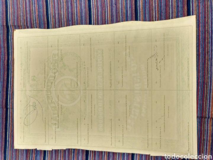 Coleccionismo Acciones Españolas: BONITA ACCIÓN DE 500 PESETAS 1947 FRIO INDUSTRIAL PALMA MALLORCA OSO POLAR - Foto 2 - 143715293