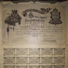 Coleccionismo Acciones Españolas: SOCIEDAD MINERA MURCIANA 1903 MURCIA. Lote 205402288