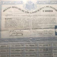 Coleccionismo Acciones Españolas: OBLIGACIÓN HIPOTECARIA DUQUE OSUNA. MADRID 1881. Lote 146734726