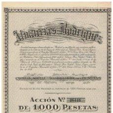 Coleccionismo Acciones Españolas: ALMACENES RODRIGUEZ. Lote 146964226