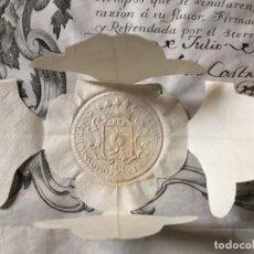 Coleccionismo Acciones Españolas: ACCIÓN COMPAÑÍA REAL DE GRANADA. 1747. PERFECTA. RARÍSIMA. SIGLO XVIII. UNA DE LAS PRIMERAS ACCIONES. Lote 147335722