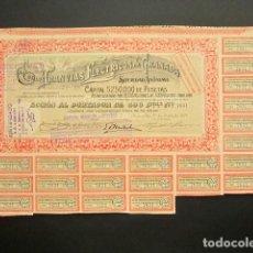 Coleccionismo Acciones Españolas: ACCIÓN TRANVÍAS ELÉCTRICOS DE GRANADA. GRANADA, 1921.. Lote 221333193