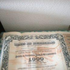Coleccionismo Acciones Españolas: ACCIONES DE MINAS DE HERRERIAS. Lote 151774348
