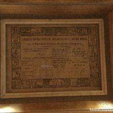 Coleccionismo Acciones Españolas: ACCIONES 1816. Lote 156995225