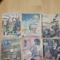Coleccionismo Acciones Españolas: ABC 6 PERIÓDICOS 1955. Lote 158476025