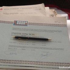 Collectionnisme Actions Espagne: PARTICIPACIÓN SOFICO 6841. Lote 158927442