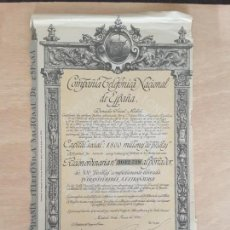 Colecionismo Ações Espanholas: ACCION TELEFÓNICA . Lote 166352038