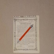 Coleccionismo Acciones Españolas: SOCIEDAD ESPECIAL MINERA LOS TRES AMIGOS MINA CONVENIO MAZARRON 1883 MURCIA. Lote 169771260