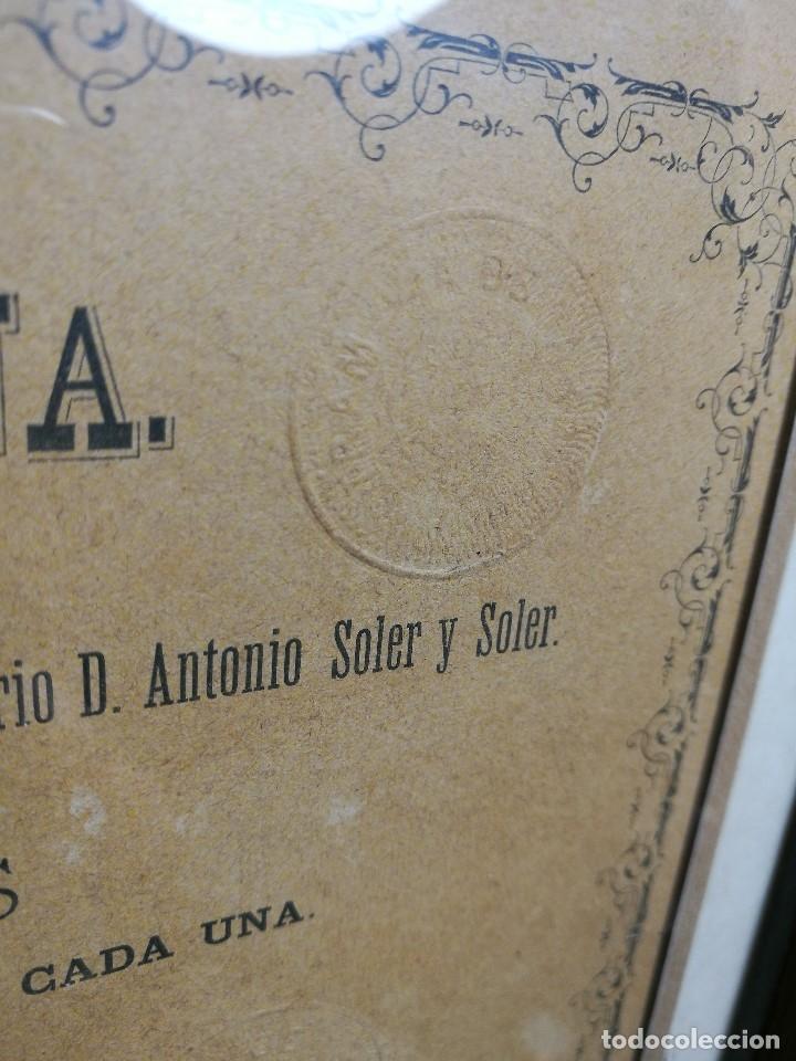 Coleccionismo Acciones Españolas: accion del TRANVIA TARRAGONA DE 1883 - Foto 9 - 172368469