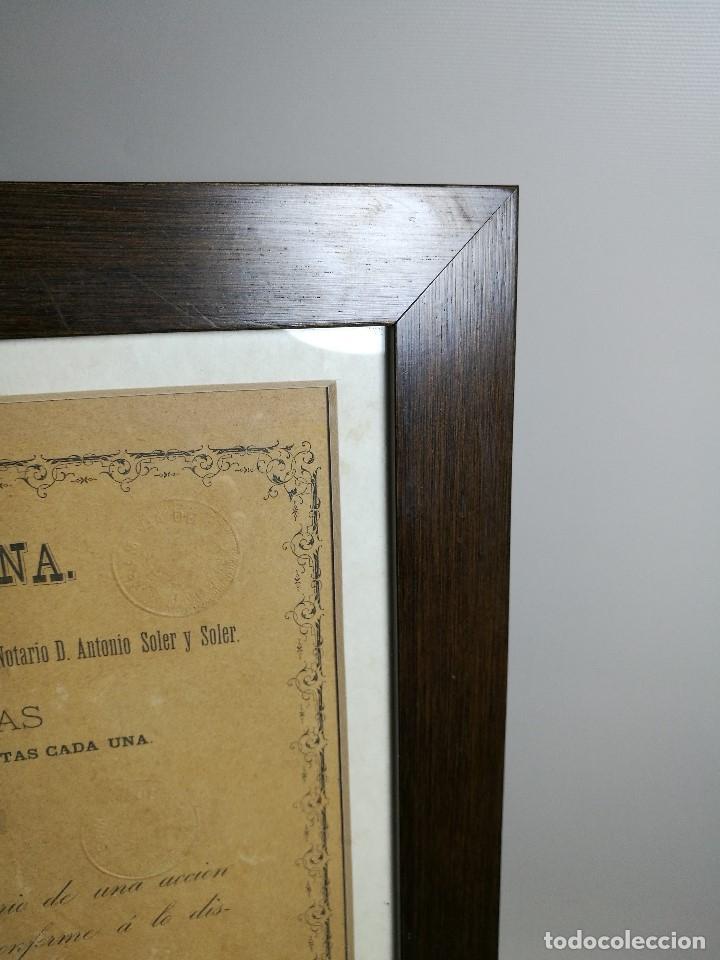 Coleccionismo Acciones Españolas: accion del TRANVIA TARRAGONA DE 1883 - Foto 25 - 172368469
