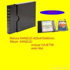 Coleccionismo Acciones Españolas: ALBUM KANZLEI, XXL. TAMAÑO: 425X470X80MM.INCLUYE CAJETÍN.EXTRAGRANDE !.. Lote 176186632