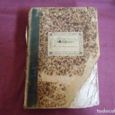Coleccionismo Acciones Españolas: SOCIEDAD MINERA-LA CARMEN-MURCIA 10/3/1880.LIBRO MATRIZ DE INSCRIPCIONES.100 ACCIONES,RARISIMO.. Lote 182626281