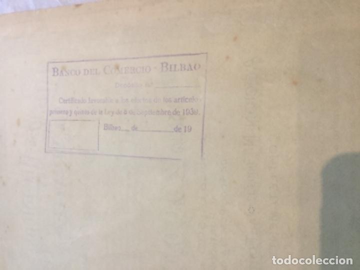 Coleccionismo Acciones Españolas: 2 ACCIONES -TALLERES MECANICOS Y GARAGES R.A.G. - BILBAO 1930 y 1943 - 38x31 y 38x33cm - Foto 2 - 184086235