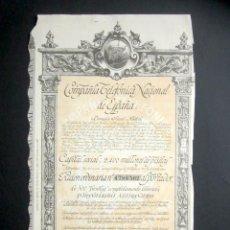 Colecionismo Ações Espanholas: AÑO 1951. ACCIÓN COMPAÑÍA TELEFÓNICA NACIONAL DE ESPAÑA. MADRID.. Lote 187198033