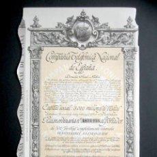Colecionismo Ações Espanholas: AÑO 1953. ACCIÓN COMPAÑÍA TELEFÓNICA NACIONAL DE ESPAÑA. MADRID.. Lote 239445675