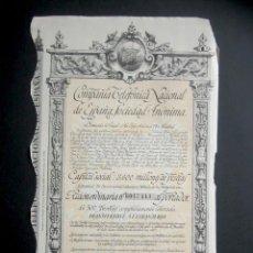 Colecionismo Ações Espanholas: AÑO 1954. ACCIÓN COMPAÑÍA TELEFÓNICA NACIONAL DE ESPAÑA. MADRID.. Lote 239445410