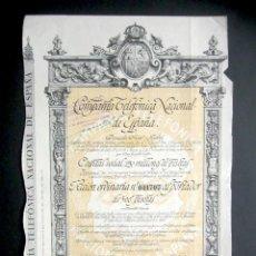 Colecionismo Ações Espanholas: AÑO 1926. ACCIÓN COMPAÑÍA TELEFÓNICA NACIONAL DE ESPAÑA. MADRID. . Lote 187199002