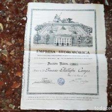 Coleccionismo Acciones Españolas: REUS-TARRAGONA. Lote 189159573