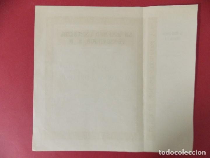Coleccionismo Acciones Españolas: ACCION - LA HISPANO COMERCIAL FERROVIARIA , S.A - AÑO 1928 - BARCELONA .. L501 - Foto 3 - 190016941