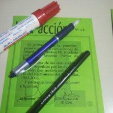 Coleccionismo Acciones Españolas: ACCION Nº 48 PERIODICO FE FALANGE EMITIDAS POR FE-JONS REF. GAR 251. Lote 190054140