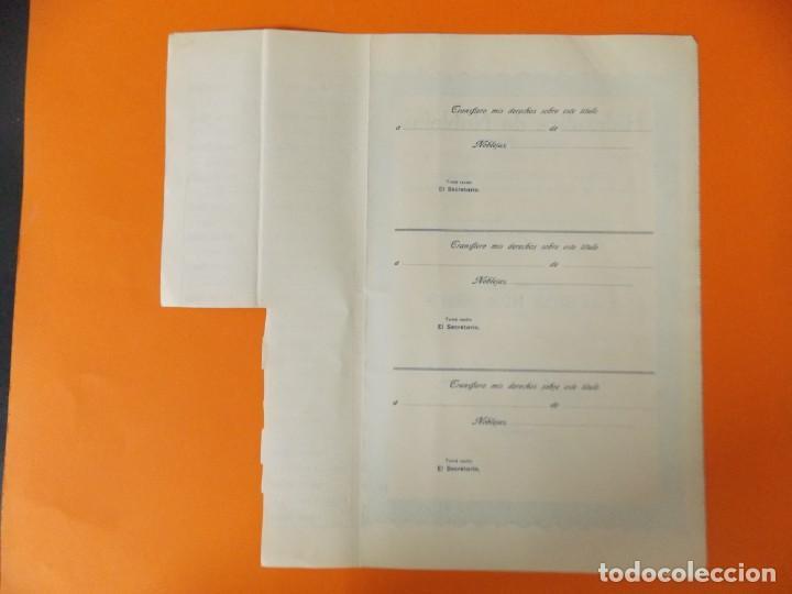 Coleccionismo Acciones Españolas: ACCION - HIDRAULICA DE NOBLEJAS , TOLEDO - AÑO 1929 - .. L500B - Foto 5 - 192925053