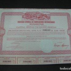 Coleccionismo Acciones Españolas: ACCION - OBLIGACION SOCIEDAD ESPAÑOLA DE FABRICACIONES NITROGENADAS SEFANITRO.LUCHANA-BARACALDO 1974. Lote 194279912
