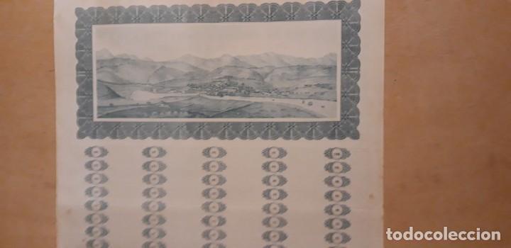 Coleccionismo Acciones Españolas: OBLIGACION DE ** JUNTA DE OBRAS Y SERV. PUERTO Y RIA DE AVILÉS 1000 PTS ** 1949 - Foto 4 - 195205677