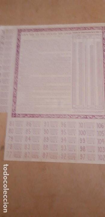 Coleccionismo Acciones Españolas: OBLIGACION DE ** JUNTA DE OBRAS PUERTO DE ALGECIRAS 1000 PTS ** 1951 - Foto 3 - 195206647