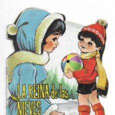Coleccionismo Acciones Españolas: COLECION TROQUELADOS CLÁSICOS- LA REINA DE LAS NIEVES - 1967 - NUMERO 34. Lote 196101572