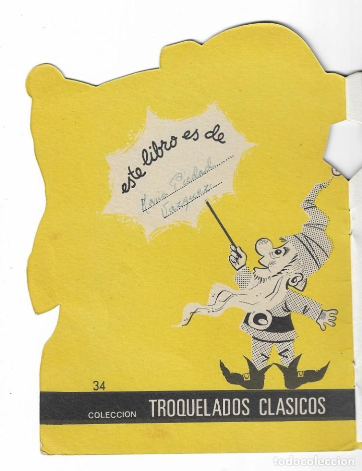 Coleccionismo Acciones Españolas: COLECION TROQUELADOS CLÁSICOS- LA REINA DE LAS NIEVES - 1967 - NUMERO 34 - Foto 2 - 196101572