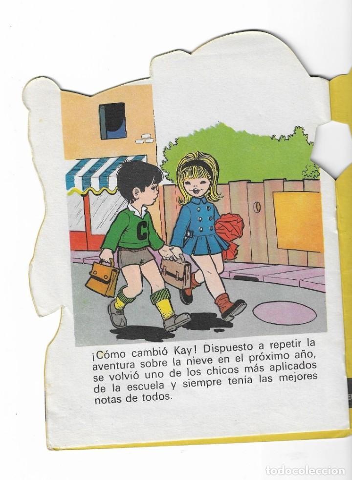 Coleccionismo Acciones Españolas: COLECION TROQUELADOS CLÁSICOS- LA REINA DE LAS NIEVES - 1967 - NUMERO 34 - Foto 3 - 196101572