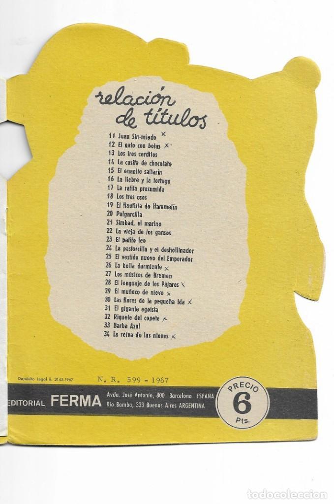 Coleccionismo Acciones Españolas: COLECION TROQUELADOS CLÁSICOS- LA REINA DE LAS NIEVES - 1967 - NUMERO 34 - Foto 4 - 196101572