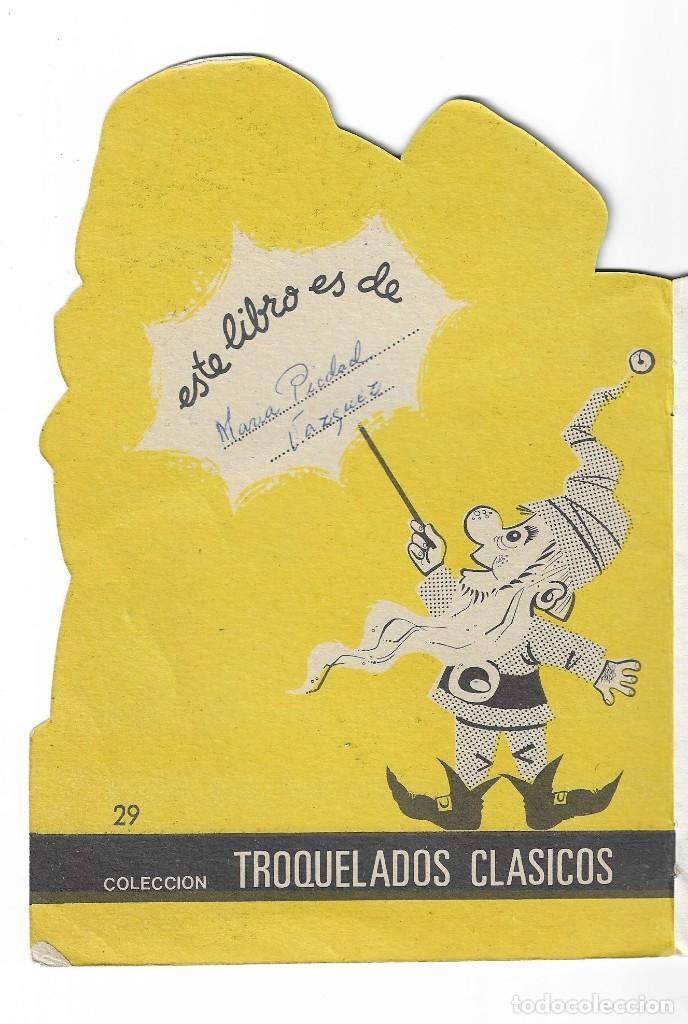 Coleccionismo Acciones Españolas: COLECION TROQUELADOS CLÁSICOS- EL MUÑECO DE NIEVE- 1967- 29 - Foto 2 - 196103857
