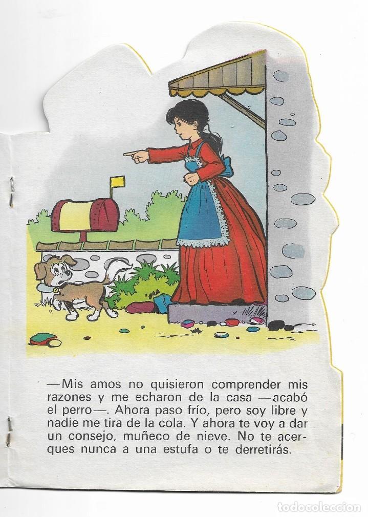 Coleccionismo Acciones Españolas: COLECION TROQUELADOS CLÁSICOS- EL MUÑECO DE NIEVE- 1967- 29 - Foto 3 - 196103857