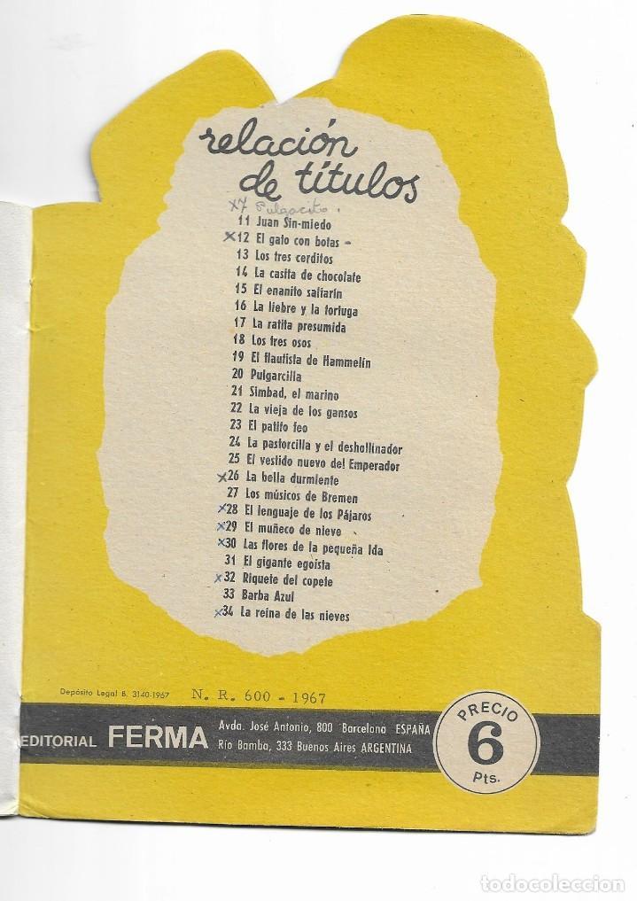 Coleccionismo Acciones Españolas: COLECION TROQUELADOS CLÁSICOS- EL MUÑECO DE NIEVE- 1967- 29 - Foto 4 - 196103857