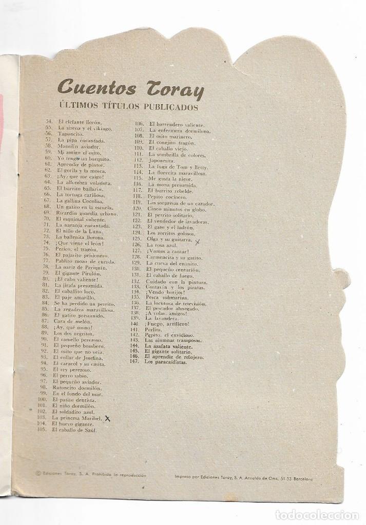 Coleccionismo Acciones Españolas: CUENTOS TORAY- JOSÉ MANUEL Y LOS INDIOS - 1965 - Foto 4 - 196109300