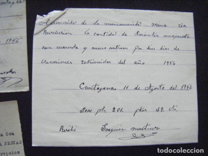 Coleccionismo Acciones Españolas: JML ACCION SOCIEDAD MINAS MINERA MURCIA MANCOMUNIDAD MINA LA OCASIÓN DOCUMENTO INTONSO LOTE 3 - Foto 3 - 198707777