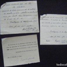 Coleccionismo Acciones Españolas: JML ACCION SOCIEDAD MINAS MINERA MURCIA MANCOMUNIDAD MINA LA OCASIÓN DOCUMENTO INTONSO LOTE 3. Lote 198707777