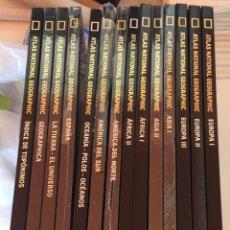 Coleccionismo Acciones Españolas: ATLAS NATIONAL GEOGRAPHIC 1-14. Lote 204816415